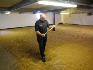 Eddie-Turning-The-Malting-Barley