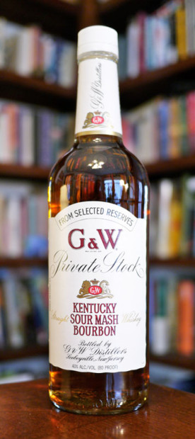 G&W-Private-Stock-Kentucky-Straight-Sour-Mash-Bourbon-Whisky