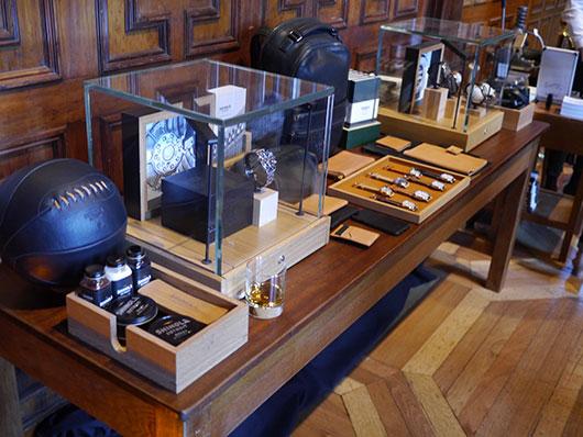 Shinola-Detroit-display-at-The-Macallan-Residence