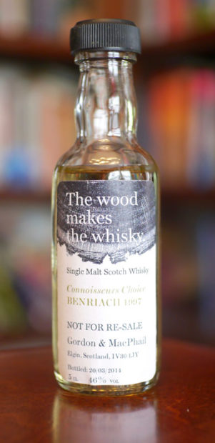BenRiach-1997-2014-Gordon-and-MacPhail-the-wood-makes-the-whisky